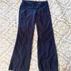 Banana Republic Martin Fit linen blend pants